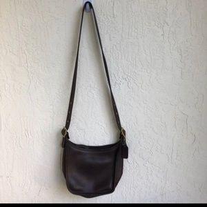 Coach Chocolate Brown Shoulderbag Vintage